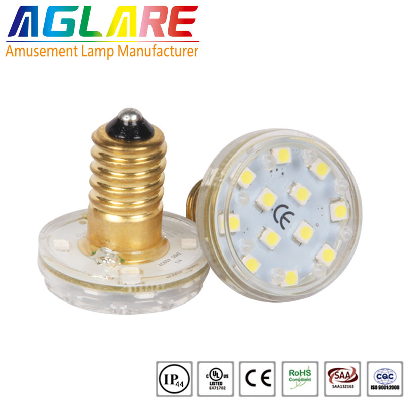 31mm 16leds e14 base led amusement rides lamps...