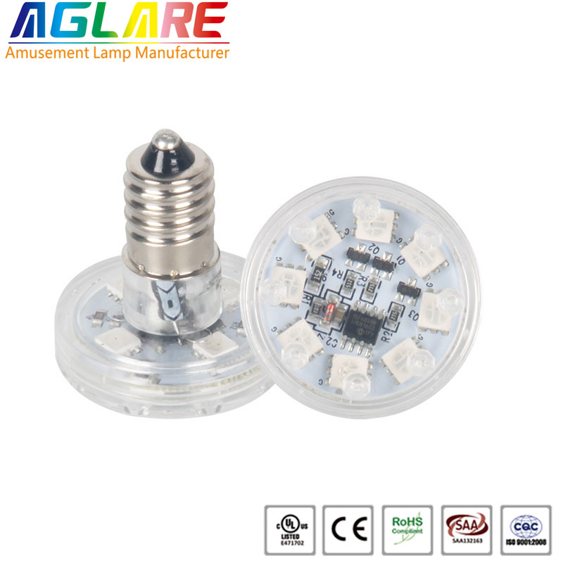 RGB auto E14 AC24V Amusement light Amusement rides Led Light