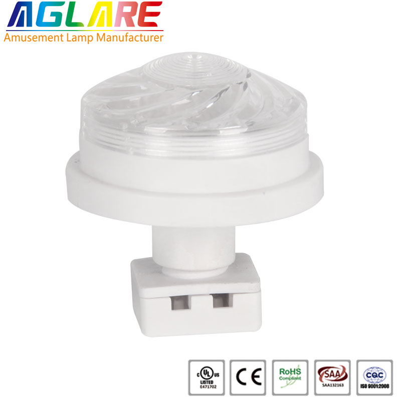 Amusement Led Lamp Housing for E10 lamp