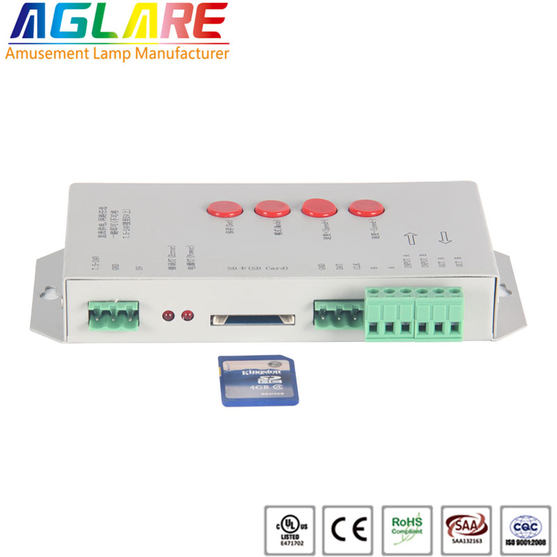 T-1000s programmable LED pixel light controller 20...