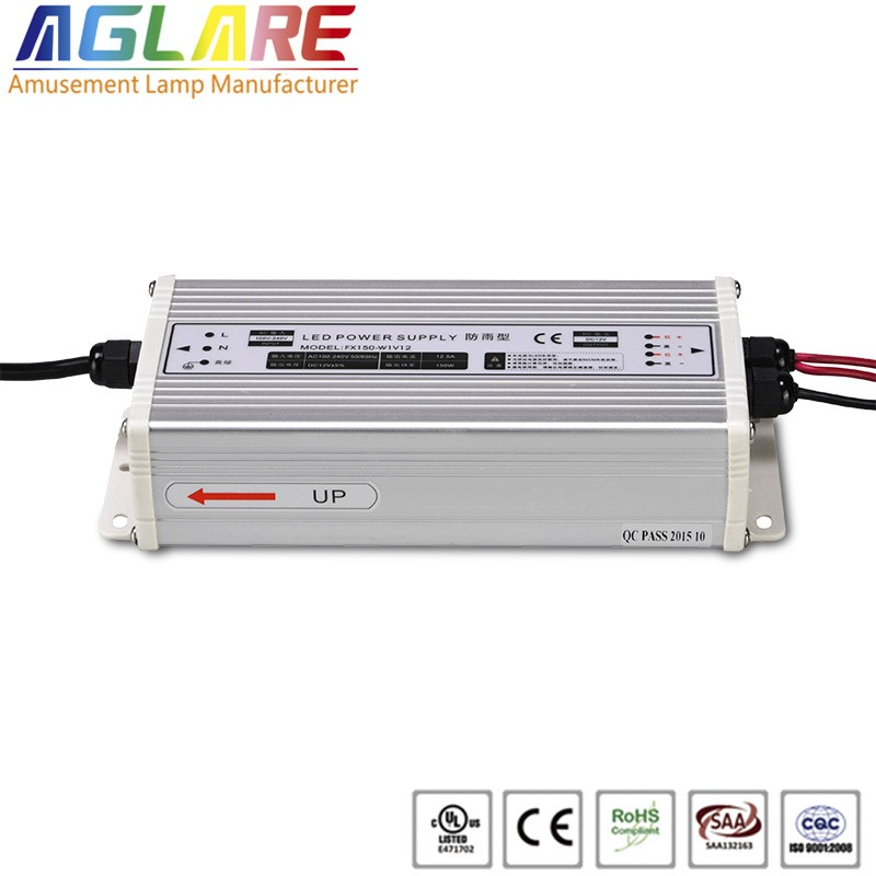 Hot sale IP44 200W AC 220v DC 12V 40A led switching power supply
