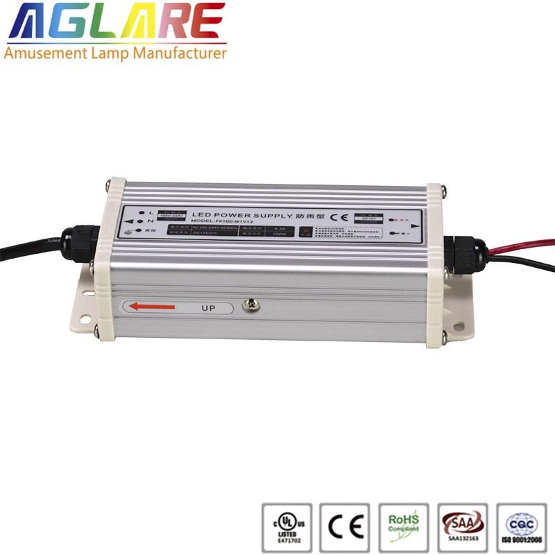 Hot sale IP44 100W AC 220v DC 12V 8.33A led switching power supply