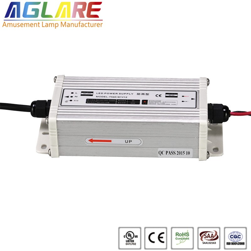 Hot sale IP44 60W AC 220v DC 12V 2.5A led switching power supply
