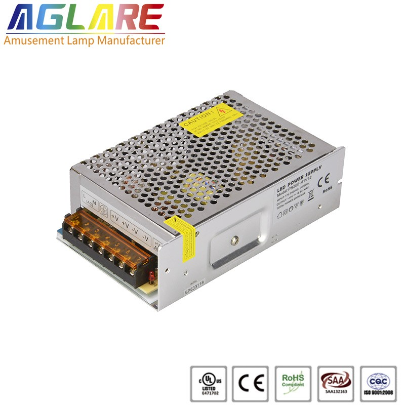 200W DC 12/24V 16.67A led switching power supply
