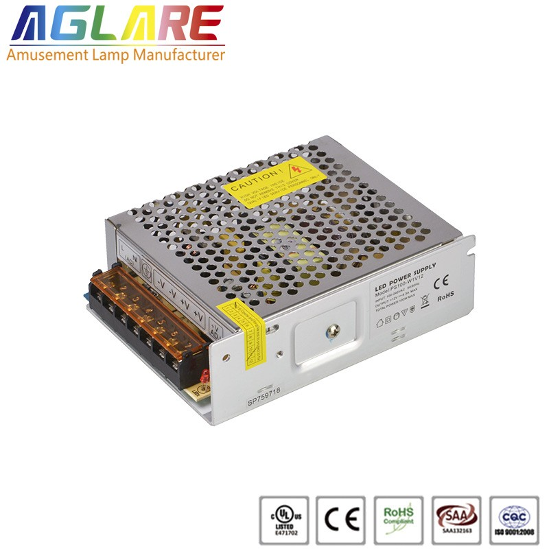 100W DC 12/24V 8.33A led switching power supply
