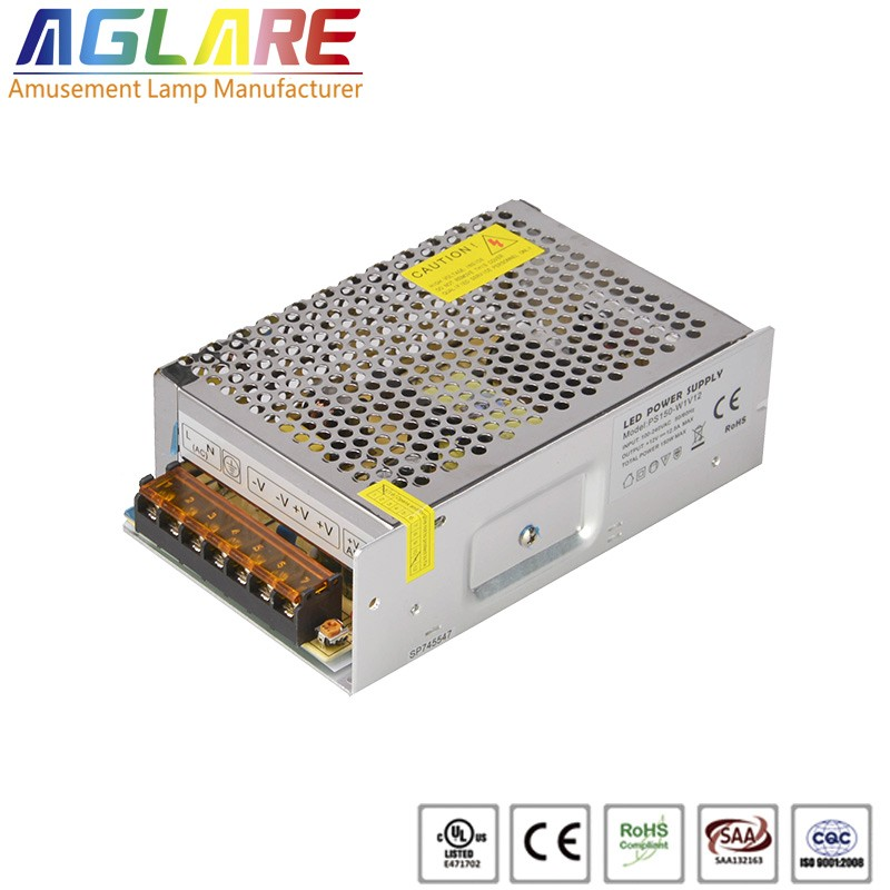 150W DC 12/24V 12.5A led switching power supply