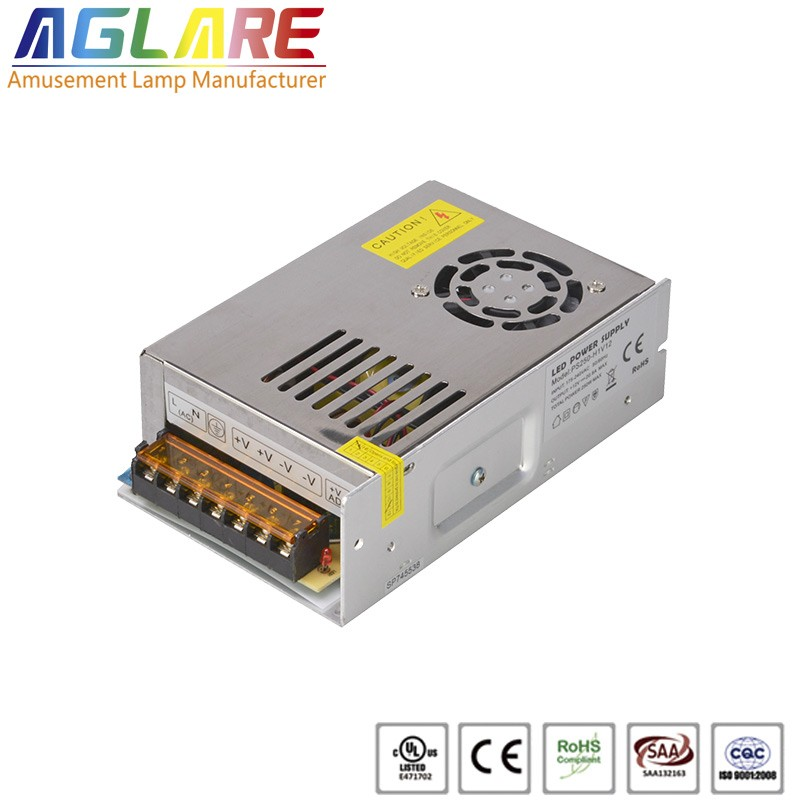 250W DC 12/24V 12.5A led switching power supply
