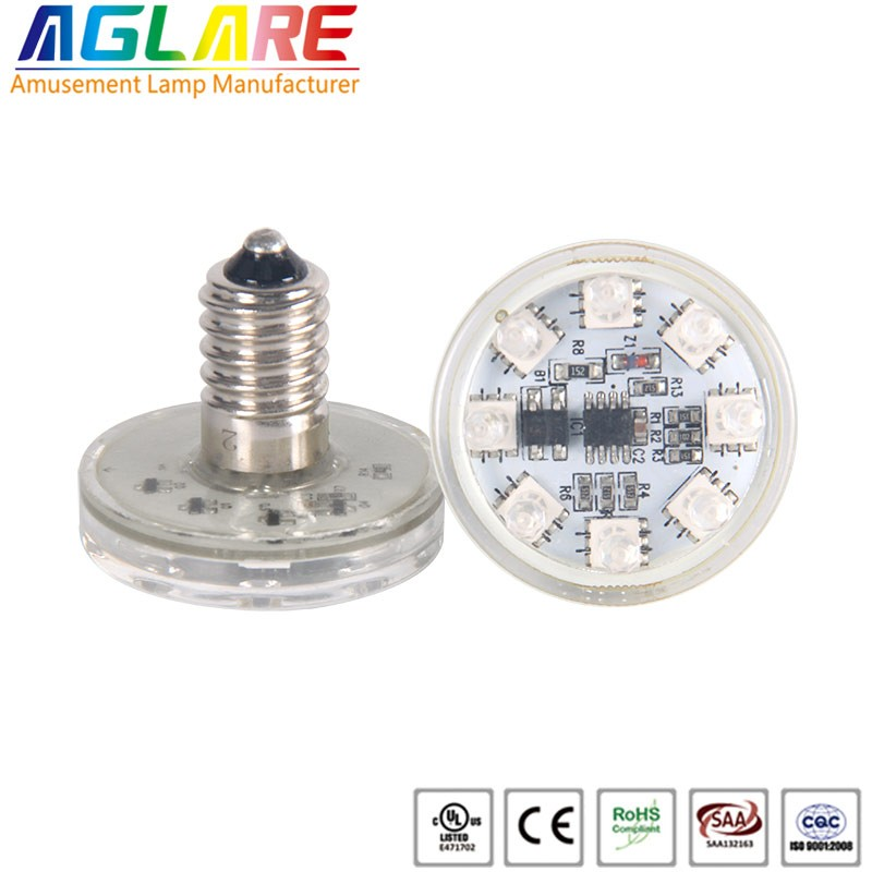 Fantastic auto rgb AC24V e14 amusement led LIGHT