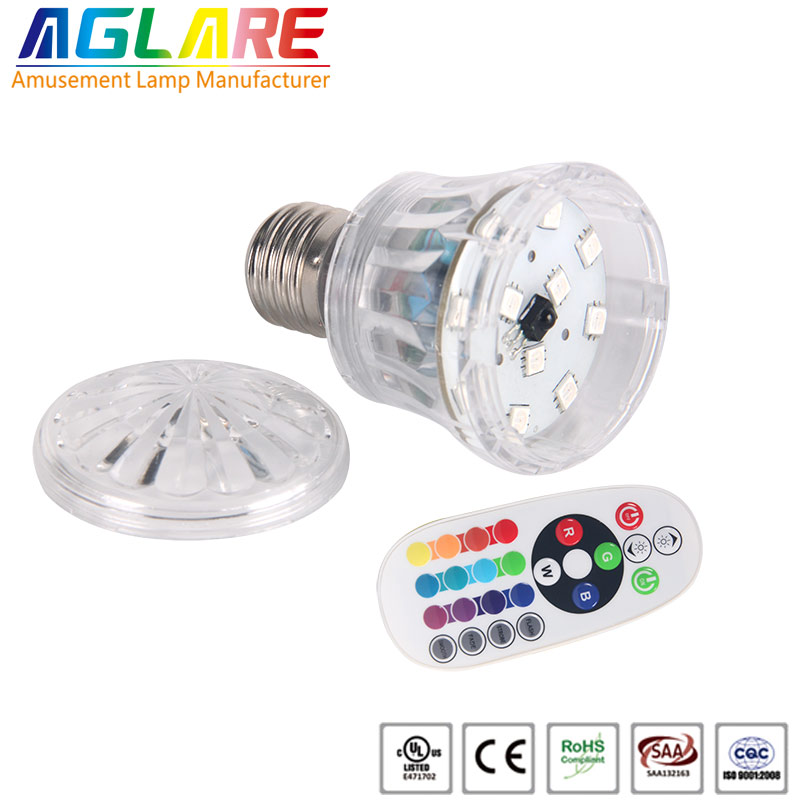 RGB color AC100-240V E27 Led bulb Lamp light with ...