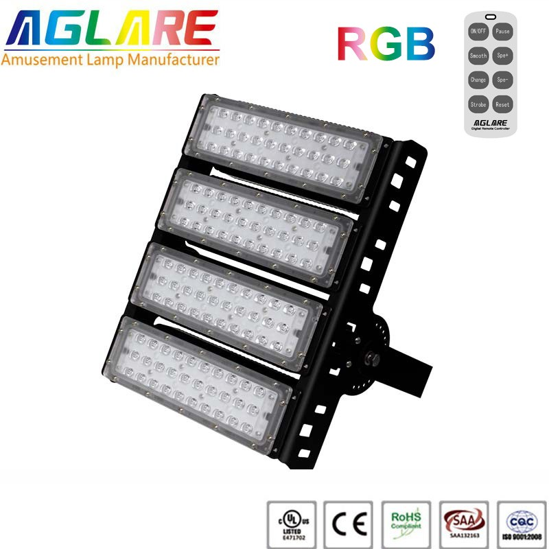 200w outdoor LED Projector RGB remote led floodlights