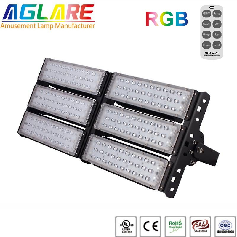 300w outdoor LED Projector RGB remote led floodlights