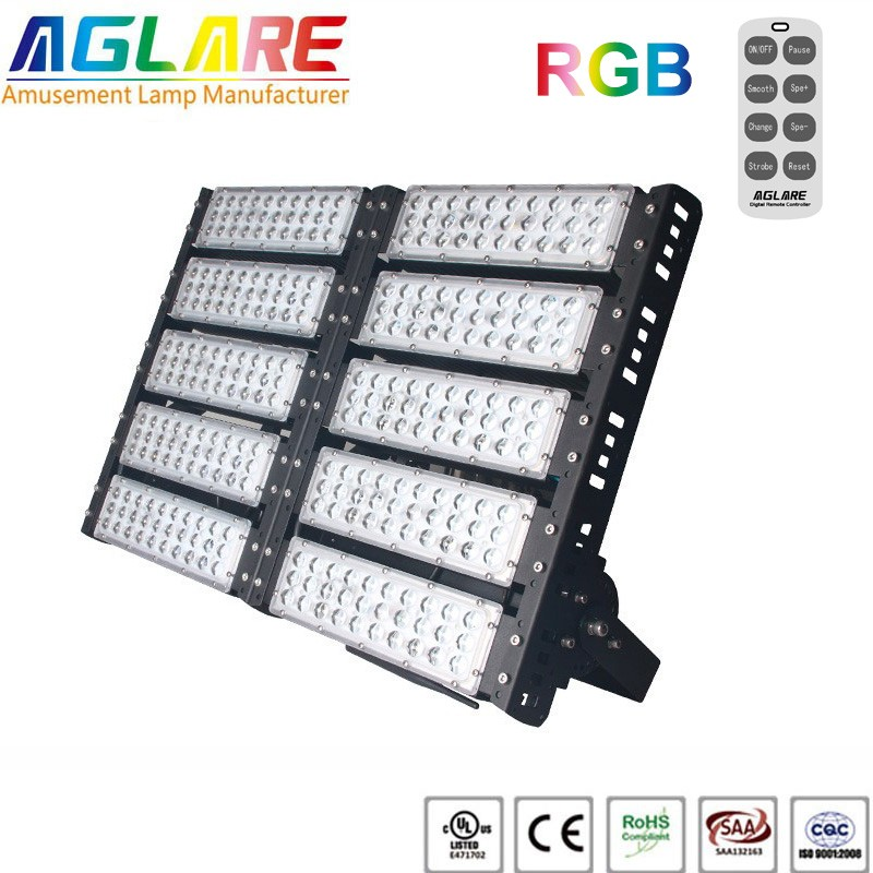 500w outdoor LED Projector RGB remote led floodlights