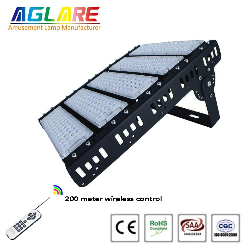 250w outdoor LED Projector RGB remote led floodlights