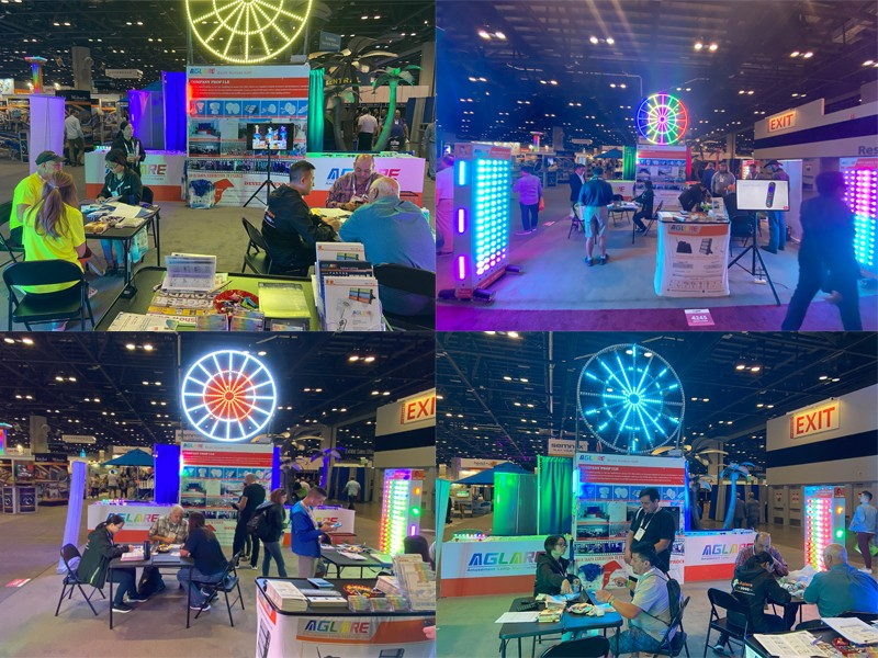 We participated in the IAAPA USA Exhibition and achieved great success.