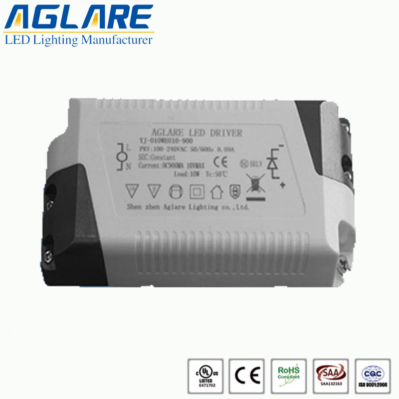 10W LED Constant Current Driver Power 900mA