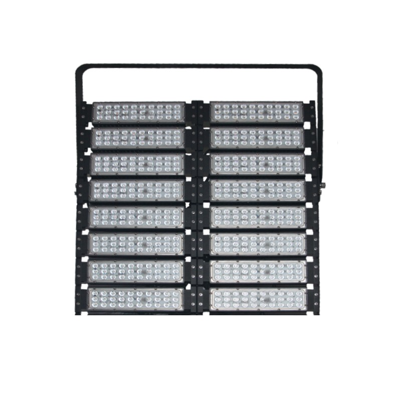 IP65 outdoor remote control 800W rgb led flood light